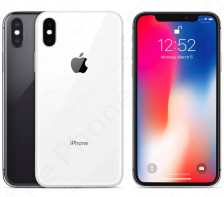 AT&T Apple iPhone X (10) Smartphone | A1901 -- GSM | 64GB (Silver)