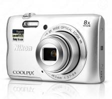 Nikon COOLPIX Camera | A300 (Silver)