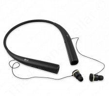 LG - Tone Pro Wireless Headphones -- In-Ear Behind-the-Neck | HBS-780 (Black)