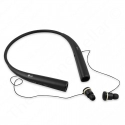 LG - Tone Pro Wireless Headphones -- In-Ear Behind-the-Neck | HBS-780 (Black)