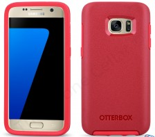 Otterbox Symmetry Series Slim Case for Samsung Galaxy S7 -- (Rosso Corso Red)