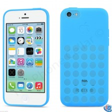 Apple Silicone Case Sleeve for Apple iPhone 5c (Blue)