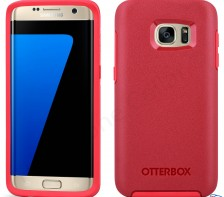Otterbox Symmetry Series Case for Samsung Galaxy S7 Edge -- (Rosso Corsa Red)