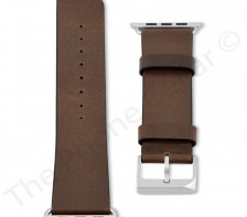 Case Mate Genuine Leather Tobacco Signature Band Apple Watch | CM032795 | Tobacco Brown (42mm)