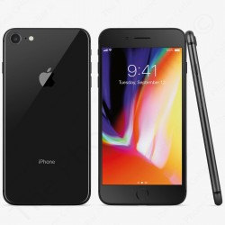 Unlocked Apple iPhone 8 Smartphone | A1905 -- 64GB | GSM (Space Gray)