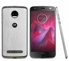 Unlocked Motorola Moto Z Force 2nd Generation Smartphone | XT1789-04 -- 64GB | (Lunar Grey)
