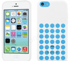 Apple Silicone Case Sleeve for Apple iPhone 5c (White)