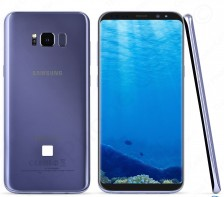 Unlocked Samsung Galaxy S8 Smartphone | SM-G950U -- 64GB -- GSM | (Orchid Gray)