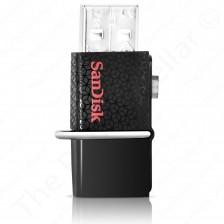 SanDisk 3.0 Ultra Dual Pen Micro USB Drive | SDDD2-032G -- 32GB | (Black)