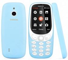 Unlocked Nokia 3310 Bar Cell Phone | TA-1036 -- 3G GSM | (Azure)
