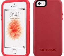 Otterbox Symmetry Series Case for Apple iPhone 5 5S SE -- (Rossa Corsa Red)