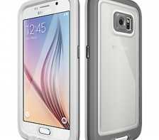 LifeProof FRE Series WaterProof Case for Samsung Galaxy S6  -- (Avalanche White)