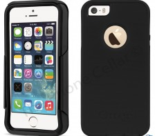 Otterbox Commuter Rugged Series  Case for Apple iPhone 5 5S SE -- (Black)