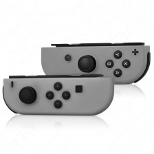 Nintendo - Nintendo Switch (L/R) Joy-Con Wireless Controllers -- (Gray)