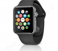 Apple Series 1 Sport Watch | 42mm -- MP032LL/A | (Space Gray Aluminum Case/Black Band)