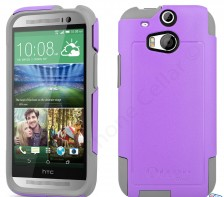 Otterbox Commuter Series Case for HTC One M8 -- (Radiant Purple Shell)