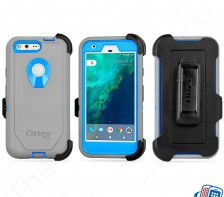 "Otterbox Defender Series Marathoner Case for Google Pixel | 5"" (Blue Gray)"