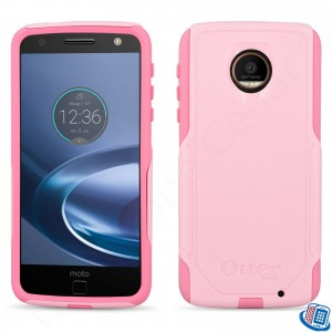 Otterbox Commuter Series Case For Motorola Moto Z Droid Edition (Pink)