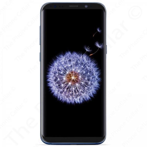Unlocked Samsung Galaxy S9 Smartphone | SM-G960U -- 64GB | GSM (Coral Blue) SR*