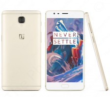 Unlocked OnePlus 3 Android Smartphone | A3000 - 64GB - GSM | (Soft Gold)