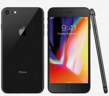 Unlocked Apple iPhone 8 Smartphone | A1905 - 64GB - GSM (Space Gray) SR*