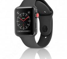 Apple Sport Watch Series 3 | 38mm - LTE Cellular (Space Gray Aluminum Black Sport)