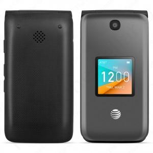 AT&T Prepaid Alcatel - Cingular Flip 2 Phone | 4044O - 4GB (Dark Gray)