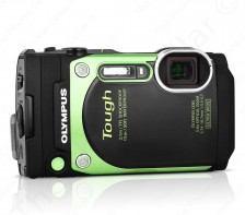 Olympus TG-870 Tough Waterproof Digital Camera with WIFI, 3-Inch LCD (Green)