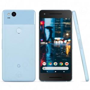 "Unlocked Verizon Google Pixel 2 5.0"" LTE Pure Android Smartphone | 64GB  - GSM (Kinda Blue)"