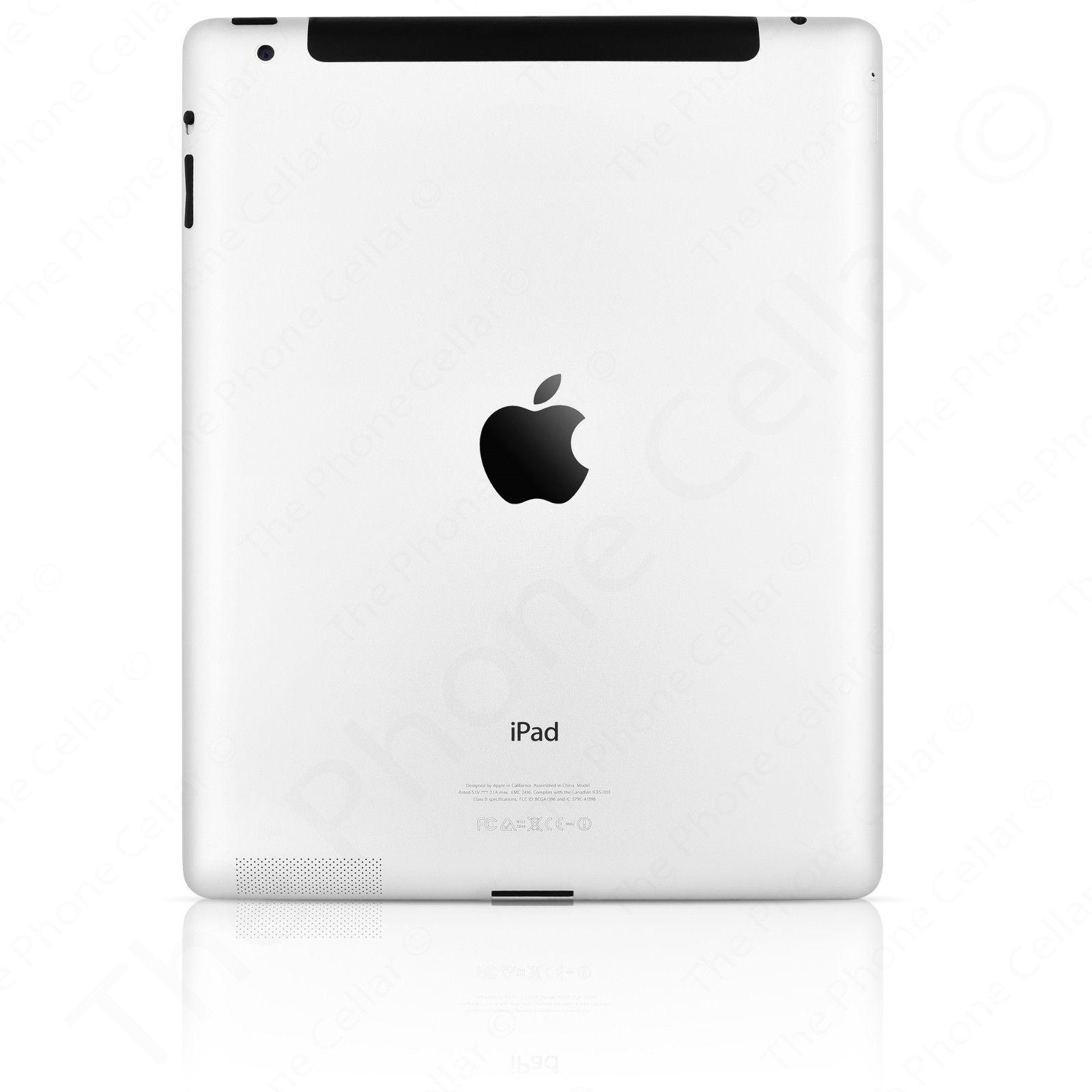 Apple iPad 264GB Cellular White Verizon Wi-Fi 9.7in